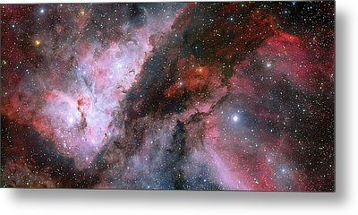Metal Print featuring the photograph A Carina Nebula Pano by Nasa