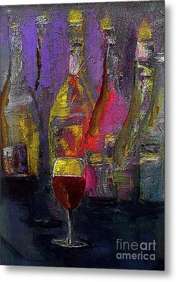 A Celebration Of Her Performance Painting By Lisa Kaiser Metal Print
