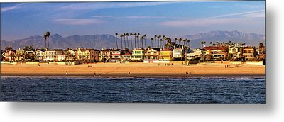 Metal Print featuring the photograph A Clear Day At The Beach by James Eddy