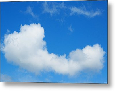 A Cloud For You Metal Print by Gwyn Newcombe