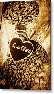 A Coffeehouse Romance Metal Print by Jorgo Photography - Wall Art Gallery