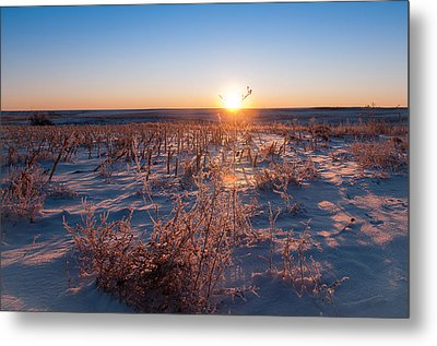 Metal Print featuring the photograph A Cold December Morning by Monte Stevens