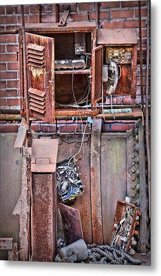 Metal Print featuring the photograph A Collaboration Of Rust by DJ Florek