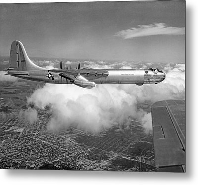 A Convair B-36f Peacemaker Metal Print by Underwood Archives