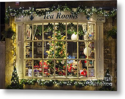 A Cotswold Christmas Metal Print by Tim Gainey