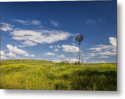 A Country Afternoon Metal Print