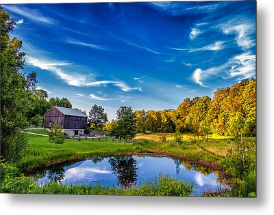 A Country Place Metal Print by Steve Harrington