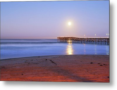 A Crystal Moon Metal Print by Joseph S Giacalone