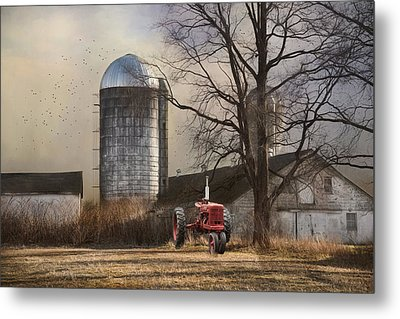 Metal Print featuring the photograph A Day Off by Robin-lee Vieira