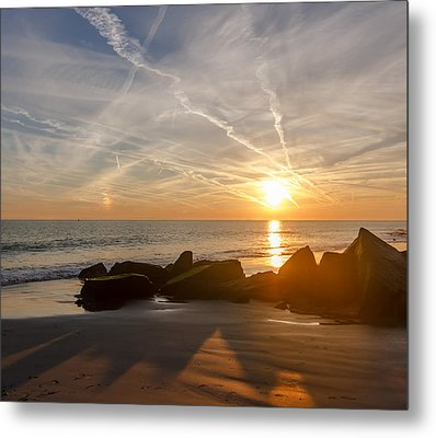 A Days End  Metal Print