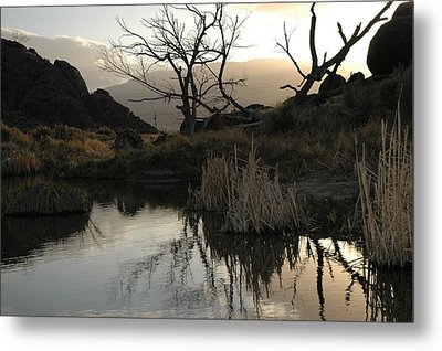 Metal Print featuring the photograph A Days End by Lori Mellen-Pagliaro