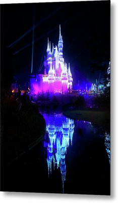 Metal Print featuring the photograph A Disney New Year by Mark Andrew Thomas