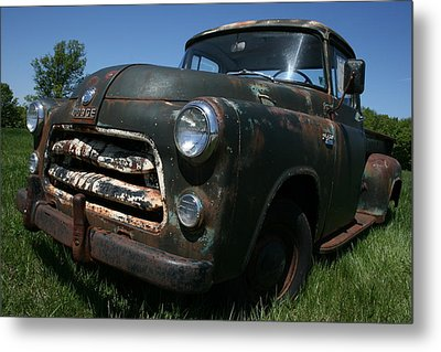A Dodge Classic Metal Print by William Albanese Sr
