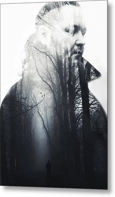 A Dream Metal Print by Art of Invi