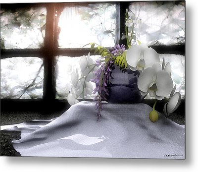 A Dream Of Orchids Metal Print