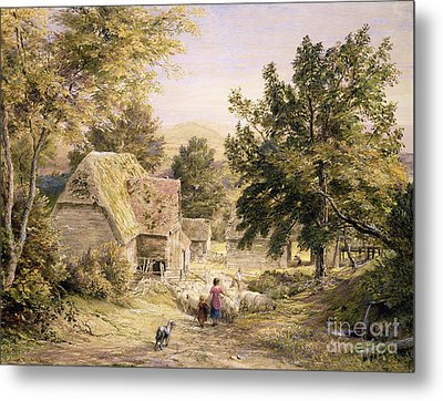 A Farmyard Near Princes Risborough Metal Print