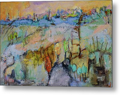 A Fine Day For Sailing Metal Print