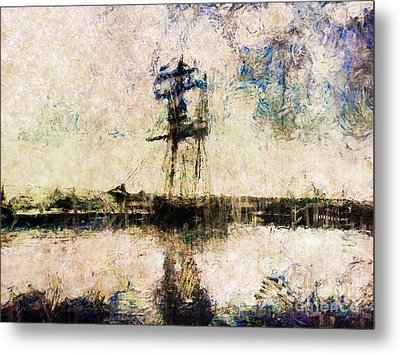 Metal Print featuring the photograph A Gallant Ship by Claire Bull