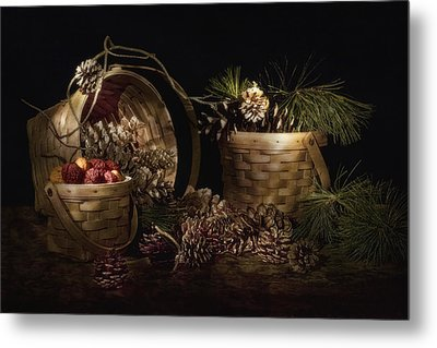 A Gathering Of Pine Metal Print by Tom Mc Nemar