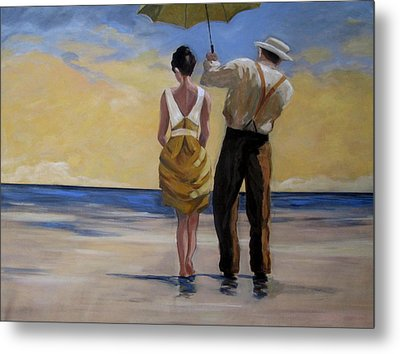 A Gentleman And His Lady Metal Print