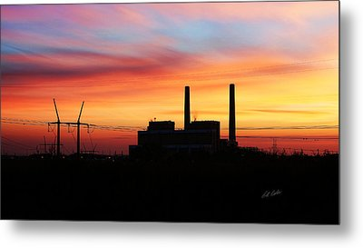 A Gentleman Sunrise Metal Print