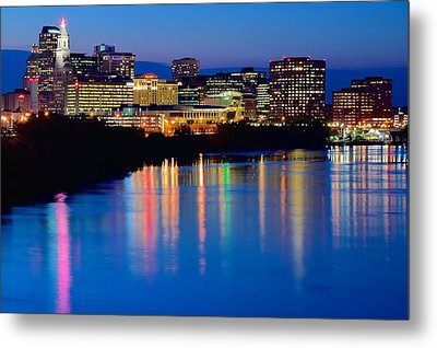 A Glorious Night In Hartford Metal Print