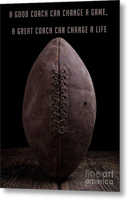 Metal Print featuring the photograph A Good Coach Can Change A Game by Edward Fielding