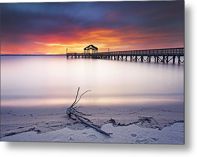 Metal Print featuring the photograph A Good Morning by Edward Kreis