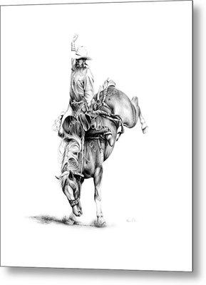 A Good Ride Metal Print by Karen Elkan