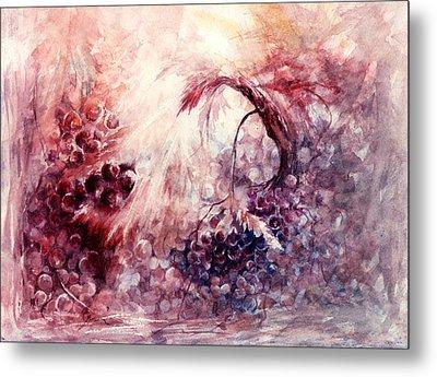 A Grape Fairy Tale Metal Print