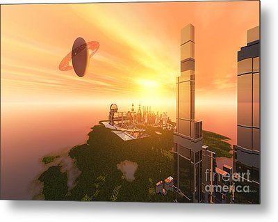 A Great Vision Metal Print by Corey Ford