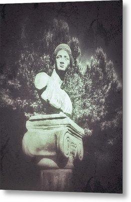A Greek Statue Metal Print