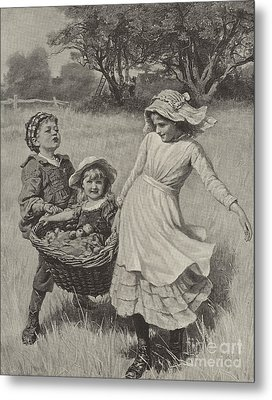 A Heavy Load Metal Print by Frederick Morgan