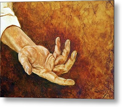 A Helping Hand Metal Print