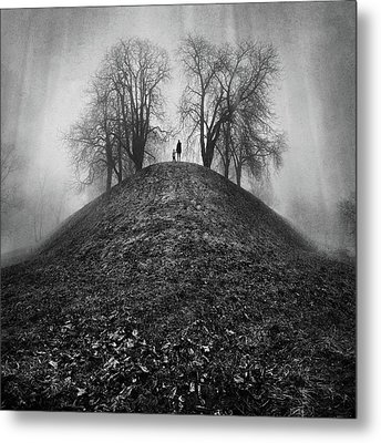 A Hope For The Eternal Presence Of Distant Places Metal Print by Ioannis Lelakis