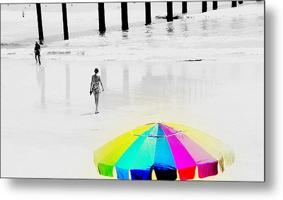 A Hot Summer Day Metal Print by Susanne Van Hulst