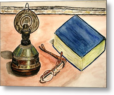 A Lampion. Metal Print
