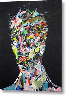 Metal Print featuring the painting A Life Full Of Oppurtunities by Fabrizio Cassetta