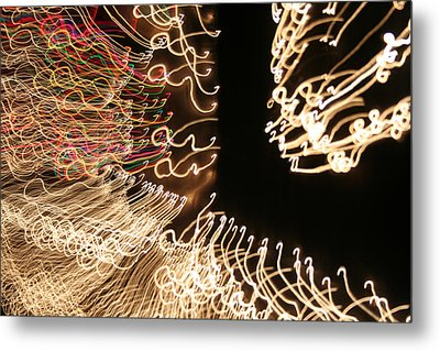 A Light Abstraction Metal Print