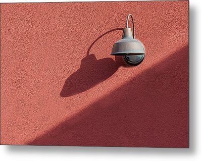 Metal Print featuring the photograph A Light Alone by Paul Wear