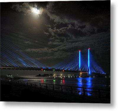 A Light From Above Metal Print by Bill Swartwout