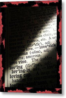 A Light On Love Metal Print