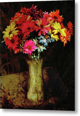 A Light Shines Into The Darkness Of My Soul 2 Metal Print