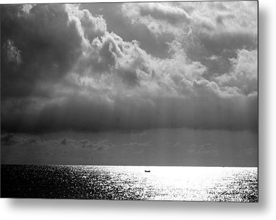 Metal Print featuring the photograph A Light Will Shine Down by Martina  Rathgens