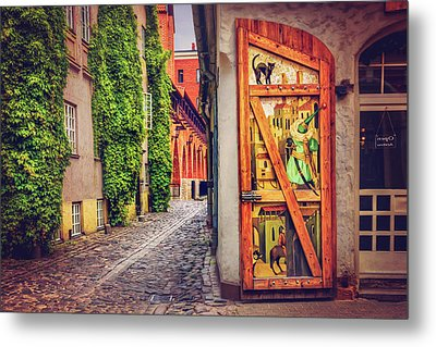 A Little Corner Of Riga  Metal Print by Carol Japp