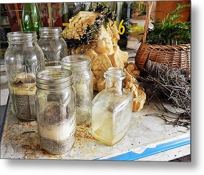 A Little Eccentricity Exists In Bluffton Metal Print by Patricia Greer