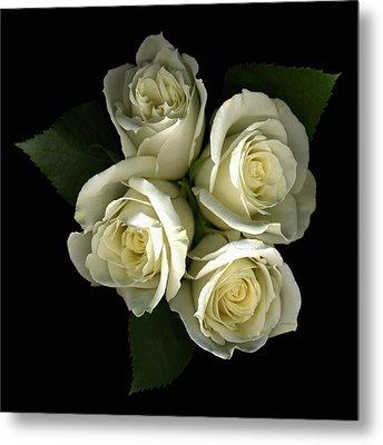 A Little Gift Of Roses Metal Print by Deborah J Humphries