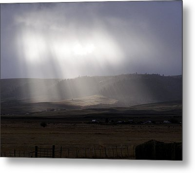 A Little Sun Must Shine Metal Print by DeeLon Merritt