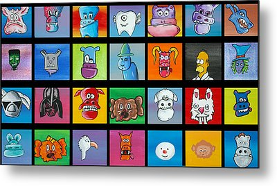 A Lot Of Character Metal Print by Jera Sky