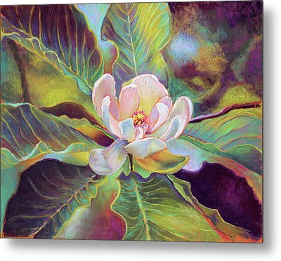 A Magnolia For Maggie Metal Print by Susan Jenkins